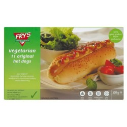 FRYS HOT DOGS 380GM