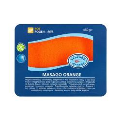 SEAFOOD MASAGO NARANJA 450 GM