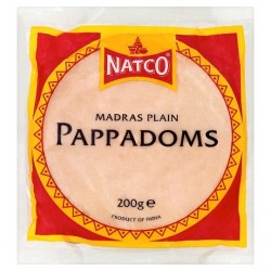 NATCO PAPADUM MADRAS  200 GM